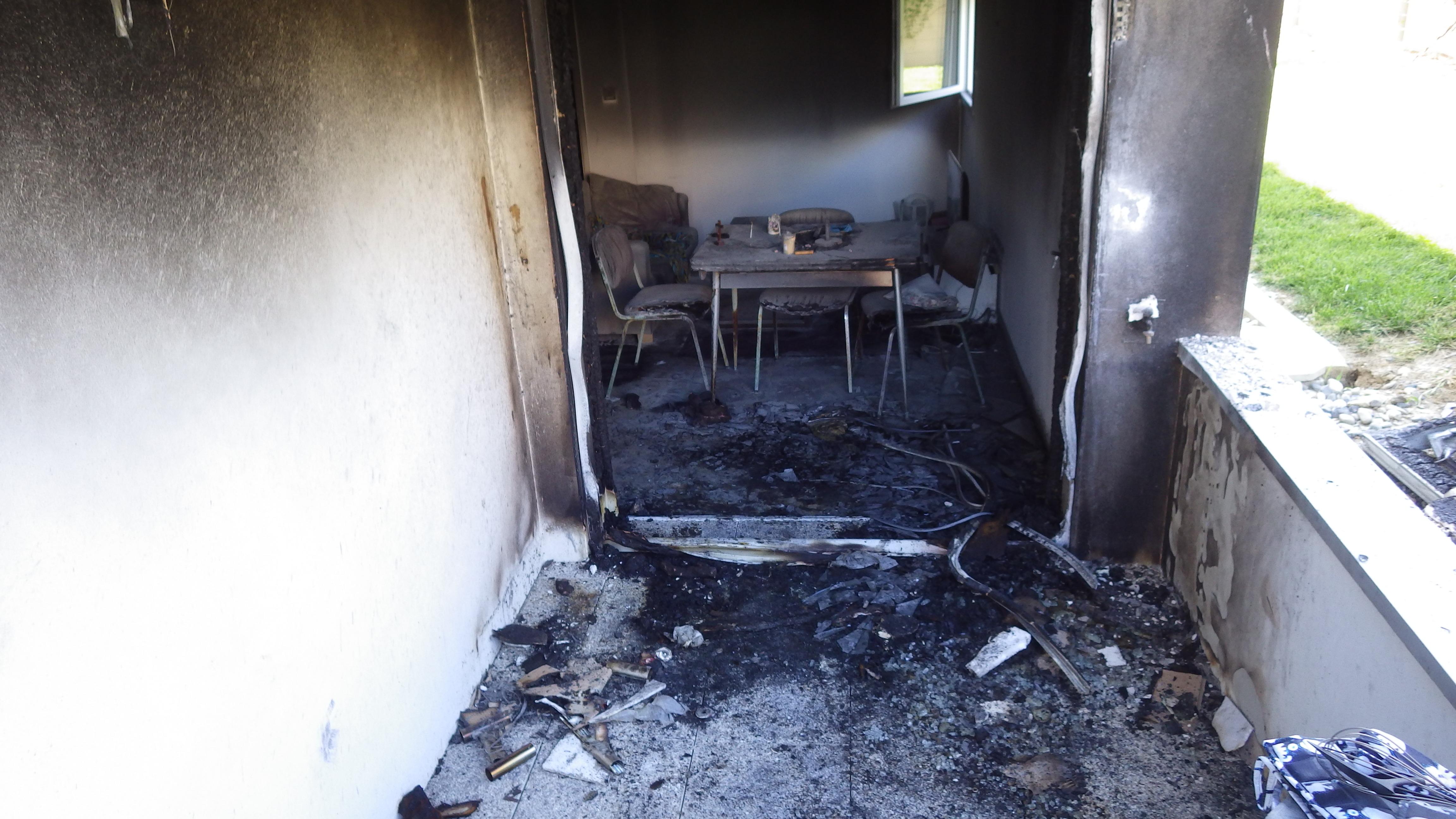 Décontamination suite à un incendie