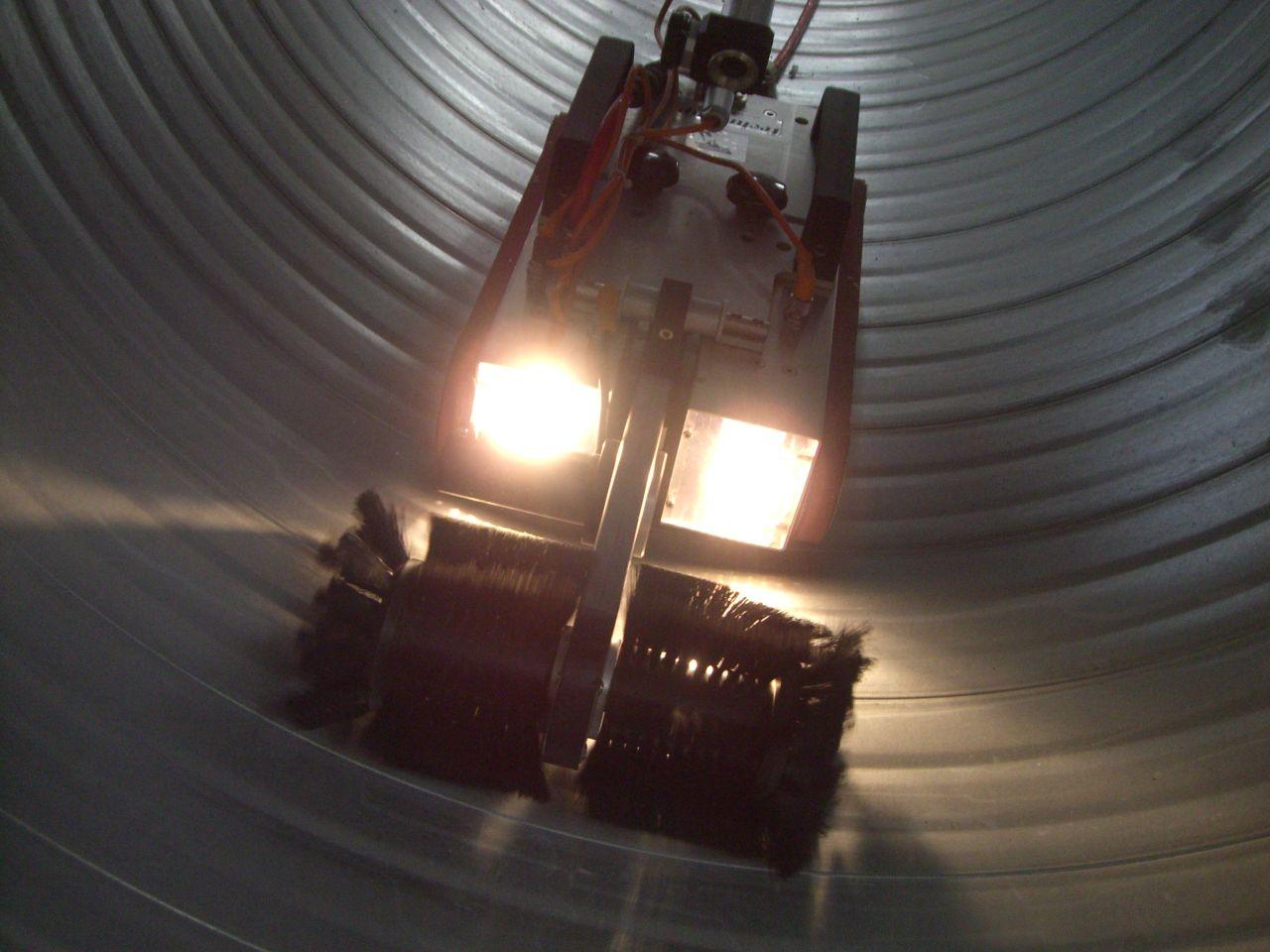 Diagnostic dans les conduits avec le robot fougeres